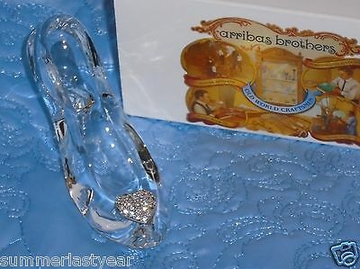 Cinderella Glass Slipper Pave' Crystals~Arribas Brothers  Disney Parks~Free Ship
