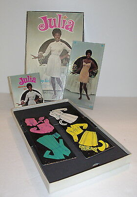 Vintage JULIA Colorforms Playset 1969 Diahann Carroll TV Show
