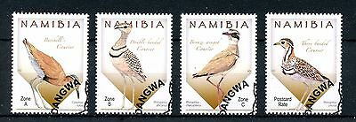 Namibia 2015 CTO Coursers of Namibia 4v Set Birds Stamps