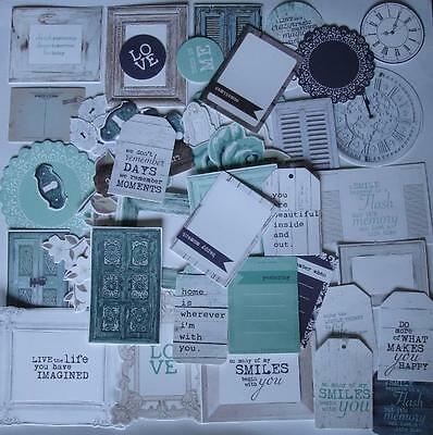 ~ Blue Bay ~ COLLECTABLES 50+ Die Cut Shapes Scrapbook Cardmaking Craft Kaiser