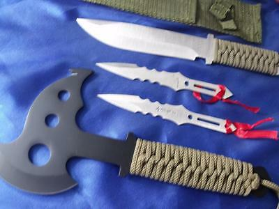 Bulk Lot A7 Throwing Knives And Axe