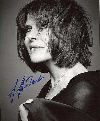 AUTOGRAPHE SUR PHOTO 20 x 25 de Fanny ARDANT (signed in person)
