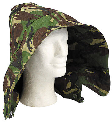 DPM Camouflage Ripstop Arctic Hood, British Army 95 Issue Jacket - Various Sizes