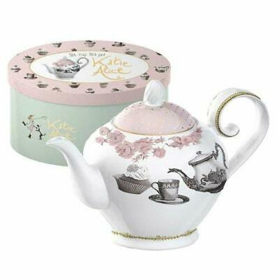 Creative Tops Katie Alice Cupcake Couture 6 Cup Porcelain Tea Pot