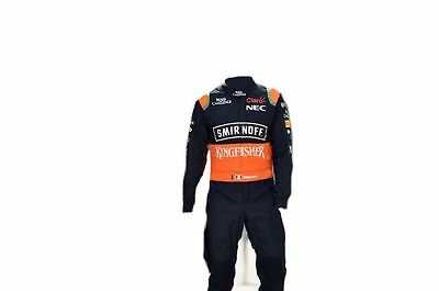Force India Go kart race suit CIK/FIA Level 2 approved 2016 style