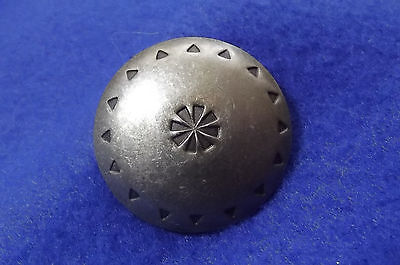 Large American Indian Stamped Button  (272)