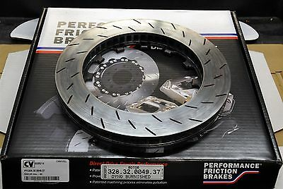 """Performance Friction 328.32.0049.37 Oval Track 12.91"""" X 1.25"""" Burnished Slotted"""