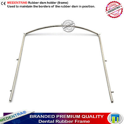 Medentra Rubber Dam Frame Orthodontic Ortho Dam Dental Lab Instrument Branded