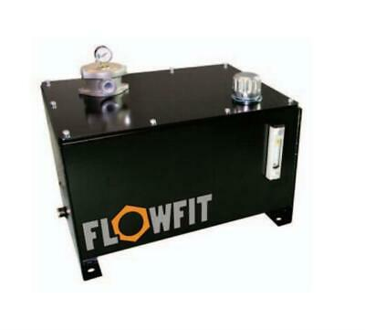 Flowfit Hydraulic Weldless Steel Tanks with Filler Breather /& Bell housing Holes