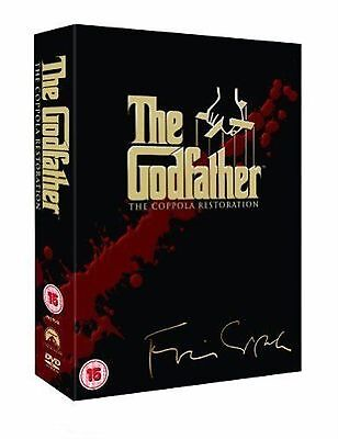 The Godfather Trilogy - 5 Disc Marlon Brando, Al Pacino, James Caan Box Set DVD