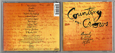 COUNTING CROWS - August and Everything After ( CD 1993 )