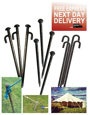 Heavy Duty Ground Pegs Peg For Gazebo Marquee Marque Tent Bouncy Castle Stakes