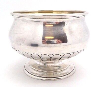 Estate 1931 Towle RARE SYMPHONY CHASED Art Deco Sterling Hollowware Waste Bowl