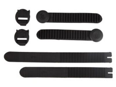 Thor NEW Mx Ratchet Boots Black 9-15 Motocross Straps Replacement Strap Kit
