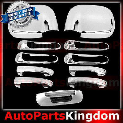 02-08 Dodge Ram 1500+2500+3500 Chrome Triple Plated Tailgate Handle no KH Cover