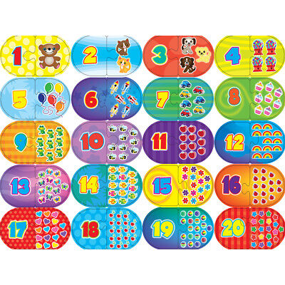 Learning Puzzle Games Numbers 40 Pieces 112-38