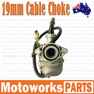 PZ 19mm Cable Choke Carburetor Carby 50cc 110CC ATV QUAD Dirt Bike Go kart Buggy