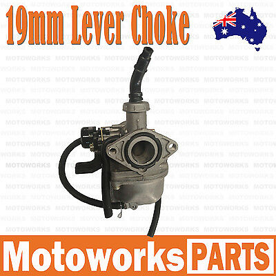 PZ 19mm Lever Choke Carburetor Carby 50cc 90cc 110cc ATV QUAD Dirt Bike Buggy 1