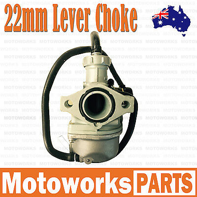 PZ 22mm Lever Choke Carby Carburetor 110cc 125cc PIT Quad Dirt Bike ATV Buggy 2