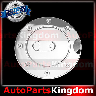 2004-2008 FORD F150 F-150 Triple ABS Chrome Fuel Gas Door COVER Cap Overlay Lip