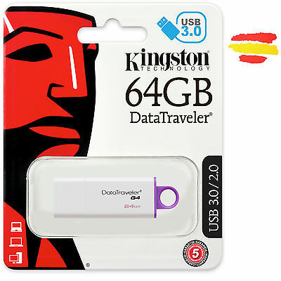 Pendrive Kingston 64Gb Memoria Usb 3.0 Pen Drive 64 Original Gb Otg
