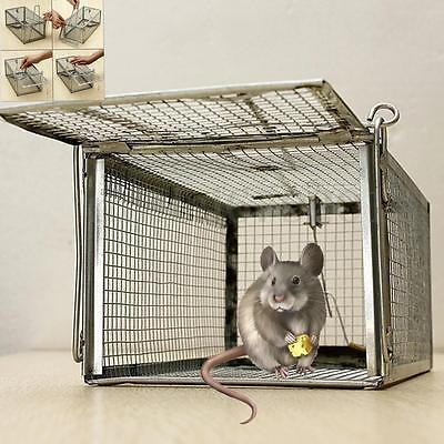 1/2/3/4Pcs Rat Catcher Spring Cage Trap Humane Live Animal Rodent Indoor Outdoor