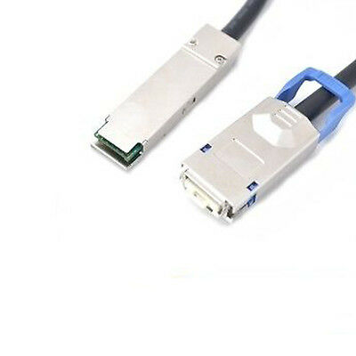 QSFP+ to CX4 Copper Cable - 2 Meter