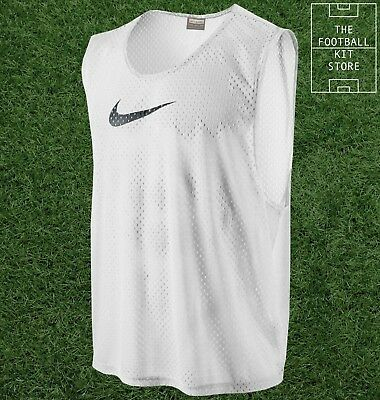 Nike Training Bibs - Genuine Nike Football/Rugby/Hockey Bibs - All Sizes - White