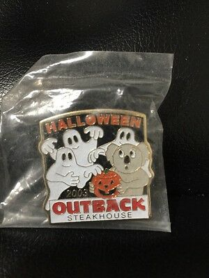 Outback Steakhouse hat lapel pin~ Halloween 2003 New ~Vintage Collectible