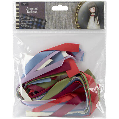 Santoro Gorjuss Tweed Ribbon Pieces 20/Pkg  GO367501