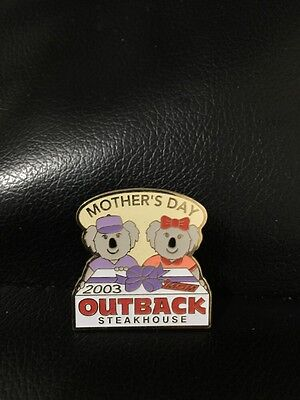 Outback Steakhouse hat lapel pin~ Mother's Day 2003 ~Vintage Collectible