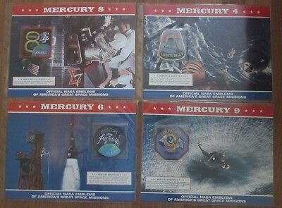 Official Nasa Emblems Of America'S Great Space Missions - Mercury 4
