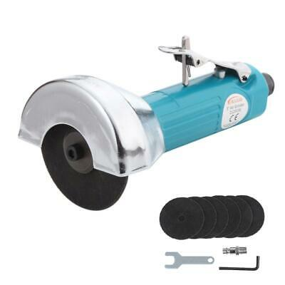 """212553B 3"""" 75mm Air Cut-off Tool Grinder Cutter Straight Saw With 6 Discs"""