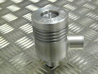 Collins Performance Roose Motorsport Closed Loop 25mm Universal Dump Valve Silve
