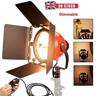 Dimmer Built In Video Studio Continuous Red Head Light 800W Lighting Tungst Rhk