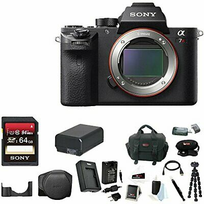 Sony Alpha a7RII Mirrorless Digital Camera (Body Only) +Bundle