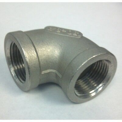 "3/4"" NPT 304SS Female x Female Elbow"