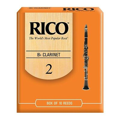Rico Rca1020 Cf. 10 Ance Per Clarinetto In Sib 2