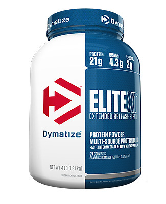 Dymatize Elite Xt 4Lb Extended Release Protein Blend Discounted Low Price New