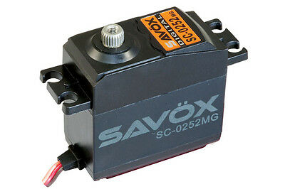 Savox Sc0252Mg Standard Size Metal Geared Digital Servo Sav-Sc0252Mg