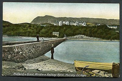 C1910 View of the Midland & Great Western Railway Hotel, Mulrany, Mayo, Eire
