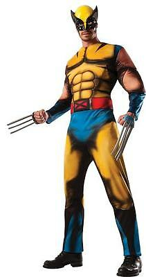 Halloween LifeSize MARVEL X-MEN WOLVERINE ADULT DELUXE MEN COSTUME Standard Size