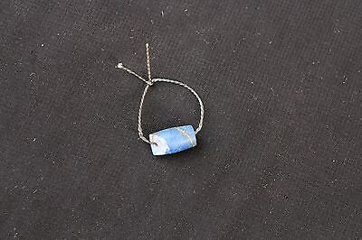 Vintage Ethnic Traditional Handmade Handcrafted Turkoman Lapis Bead Single