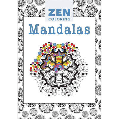 Guild Of Master Craftsman Books Zen Coloring Mandalas GU-41154