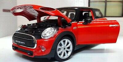 1:24 G LGB Scale New BMW Mini One Cooper 2014 1.2 1.5 2.0 Diecast Latest Model