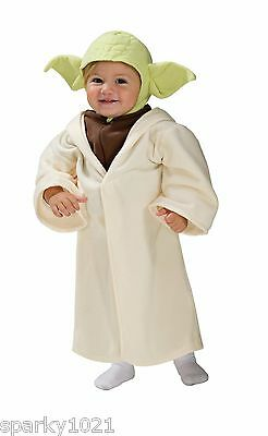 Rubie's Costume Star Wars Complete Yoda Costume Toddlers Size 24 Months NIP