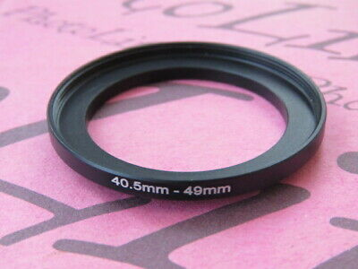 40,5mm to 49mm Stepping Step Up Filter Ring Adapter 40,5mm-49mm UK