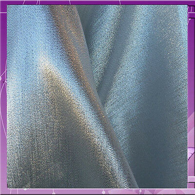 "60"" wide Crystal SILVER lame"