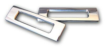 69' Camaro Marquez Design Billet Side Marker Light Bezels -