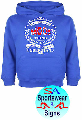 0e8a7b1e Adults It's A Mods Thing You Wouldnt Understand Union Jack Mod Hoodie Sizes  S-Xl